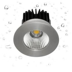 Spot encastré LED IP65 RT2012 Aluminium - INDIGO