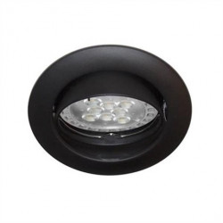 Spot orientable Noir GU10...