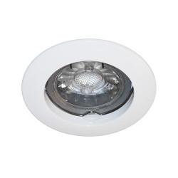 Spot fixe blanc GU10 max 50W (KSA100204) - INDIGO