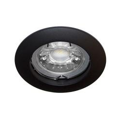 Spot fixe Noir GU10 max 50W (KSA100205) - INDIGO