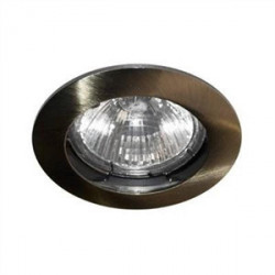 Spot fixe Bronze antique GU10 max 50W (KSA100211) - INDIGO