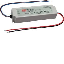 Transformateur 100W/24V pour LED bande pour plinthe SL (LEDTR100) - HAGER