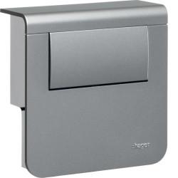 Support d'appareillage équipé d'un tranfo LED 30W Alu (SL200809LEDD1) - HAGER