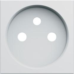 Enjoliveur prise de courant 2 pôles + terre gallery pure (WXD100B) - HAGER