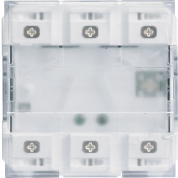 6 boutons poussoirs KNX LED...