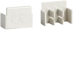 10 bouchons latéraux pour barres de pontage 2P 16mm² et 3P (KZ023A) - HAGER