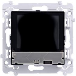 Kallysta thermostat d'ambiance programmable et boutons poussoirs KNX, ecran TFT (WKT511) - HAGER