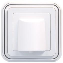 cubyko Sortie de câble encastrée blanc (WNE155B) - HAGER