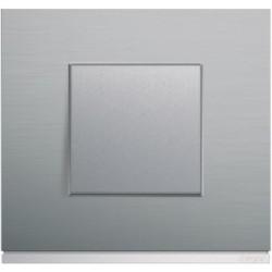 Interrupteur complet Gallery Matiere bright inox - HAGER