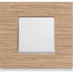 Interrupteur complet Gallery Bois oak wood - HAGER