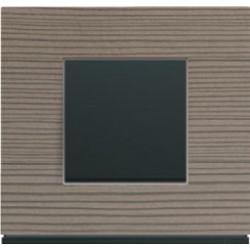 Interrupteur complet Gallery Bois grey wood - HAGER