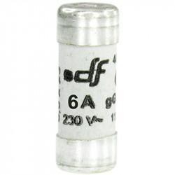 Fusible 6A gF 8,5x23 sans voyant (27106) - EUROHM