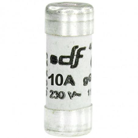 Fusible 10A gF 8,5x23 sans voyant (27110) - EUROHM