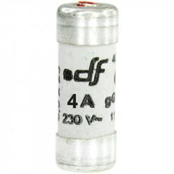 Fusible 4A gF 8,5x23 à voyant (27204) - EUROHM