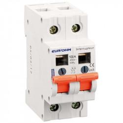 Interrupteur Sectionneur 2P 100A AC22A (30005) - EUROHM