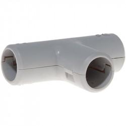 Té diamètre 16mm gris (42316) - EUROHM