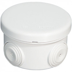 Boîte IP55 ronde diamètre 80 x 45mm (50002) - EUROHM