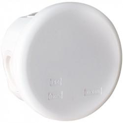 Boîte blanche IP55 membrane diamètre 80 x 40mm (50222) - EUROHM