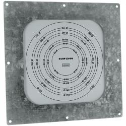 Membrane de passage étanche 30x30 sans cadre diamètre 80/200 (52092) - EUROHM