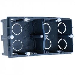 Boîte maconnerie double entraxe 57 p40 (52110) - EUROHM