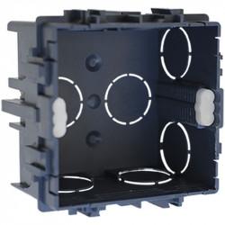 Boîte maconnerie 75x75x50 griffe/vis  (52111) - EUROHM