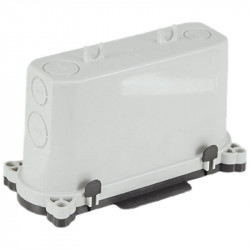Descente de cloison XL clouable prédécoupée avec couvercle (52150) - EUROHM