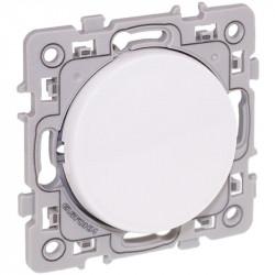 Bouton poussoir blanc Square (60202) - EUROHM