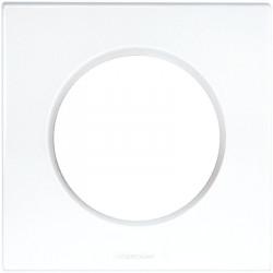 Plaque blanche 1 poste...