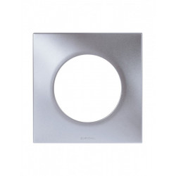 Plaque Silver 1 poste...