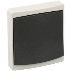 Mecanisme + bouton VV IP55 gris (60705) - EUROHM
