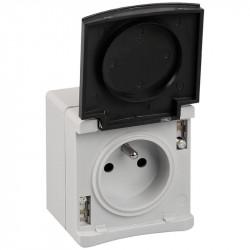 PC 2P+T IP55 gris (60720) - EUROHM