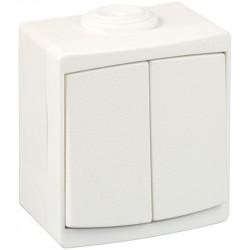 Double VV IP55 blanc (60732) - EUROHM
