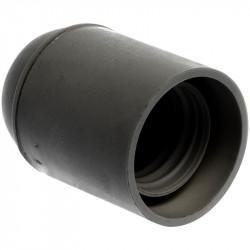 Douille E27 simple bague noire (62121) - EUROHM