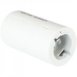 Douille de chantier B22 blanche (62150) - EUROHM
