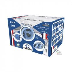 Pack de 100 boîtes d67 p50 avec scie cloche et 5 boîtes doubles (52074) - EUROHM