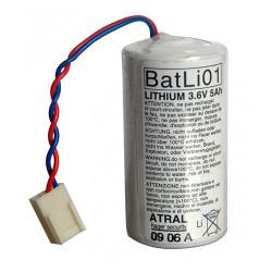 Pile lithium 3,6V 5Ah (BATLI01) - HAGER