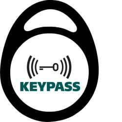 3 badges électronique porte-clé RFID (REH213X) - HAGER