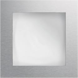 Module d'information à affichage rétro-éclairé acier inoxydable (REN700X) - HAGER
