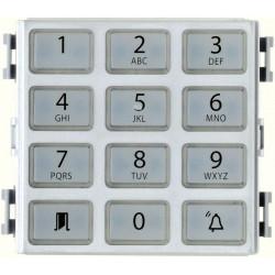 Module clavier Contrôle des accès, gris métal (001DC00EGMA02) - CAME