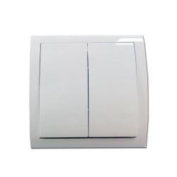 Interrupteur filaire mural 2 poussoirs (001FR1273) - CAME