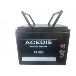 23ST600 Batterie 12V 60Ah...