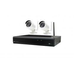 Kit IP WIFI 4 canaux 2 caméras WIFI extérieures (8K48EA-008) - CAME