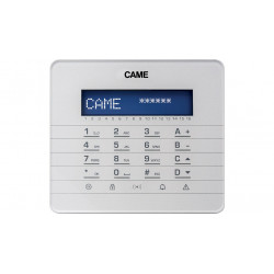 Clavier LCD, avec touches à effleurement (846CA-0040) - CAME
