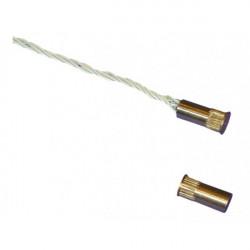 Contact magnétique à encastrer laiton (846EF-0050) - CAME