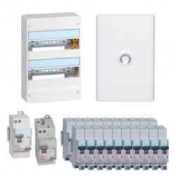 Offre coffret Drivia 13 modules 2 rangées (KIT13M2R) - LEGRAND