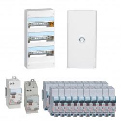 Offre coffret Drivia 13 modules 3 rangées (KIT13M3R) - LEGRAND