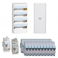Offre coffret Drivia 13 modules 4 rangées (KIT13M4R) - LEGRAND