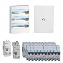 Offre coffret Drivia 18 modules 3 rangées (KIT18M3R) - LEGRAND