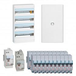 Offre coffret Drivia 18 modules 4 rangées (KIT18M4R) - LEGRAND