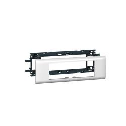 Support Mosaic 6 modules pour goulotte DLP monobloc avec couvercle 65mm (010956) - LEGRAND